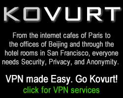 Kovurt VPN for Online Privacy