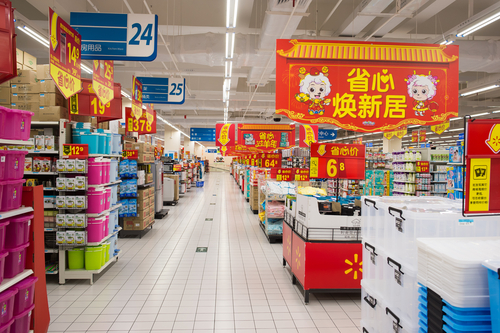 Walmart and government in china